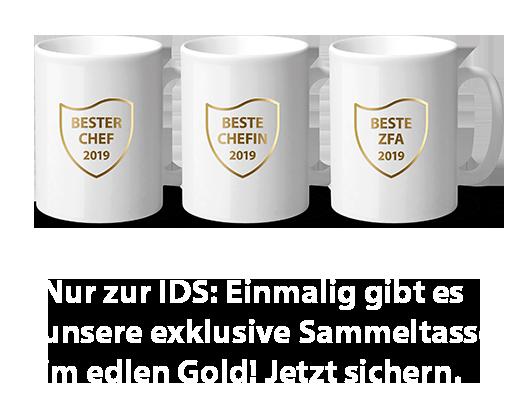 Tassen zur IDS 2019